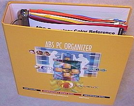 PC Organizer 3-Ring Binder from ABS